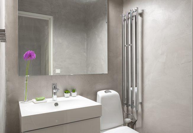 mikrosementti wc:n uudistettu ilme