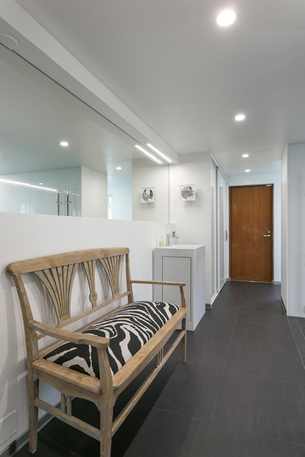 uudistettu kylpyhuone