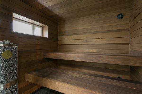 Pelkistetty sauna
