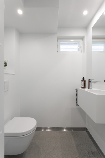 minimalistinen wc